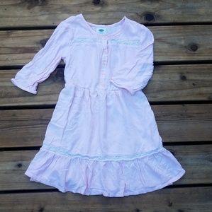 Pink Retro Dress Medium (8)